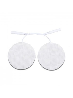 ROUND ELECTRODES WITH CABLE (40mm)