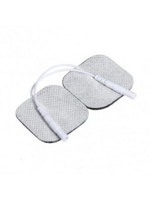 DISPOSABLE ELECTRODES WITH CABLE (40 x 40mm)