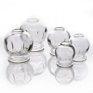 GLASS CUPPING JARS