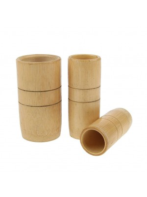 BAMBOO CUPPING CUPS (3 PCS)