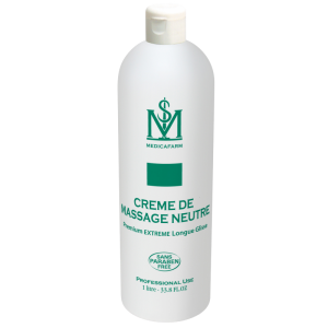 Neutral Massage Cream Premium Extreme Long Glide 1L