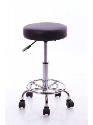 CLASSIC STOOL WITH A METAL BASE